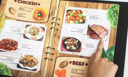 Gợi ý cách làm menu đẹp, đơn giản
