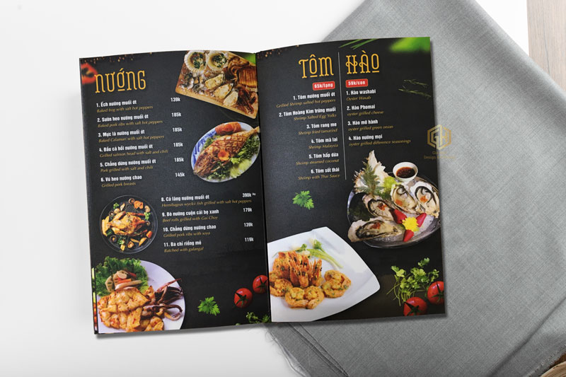 cách làm menu đơn giản