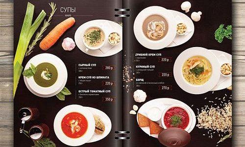 Bí quyết để thiết kế menu nhà hàng đẹp mắt